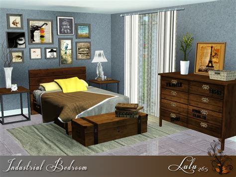 sims 3 bedrooms the sims resource tsr industrial bedroom by lulu265 sims 3 downloads cc caboodle