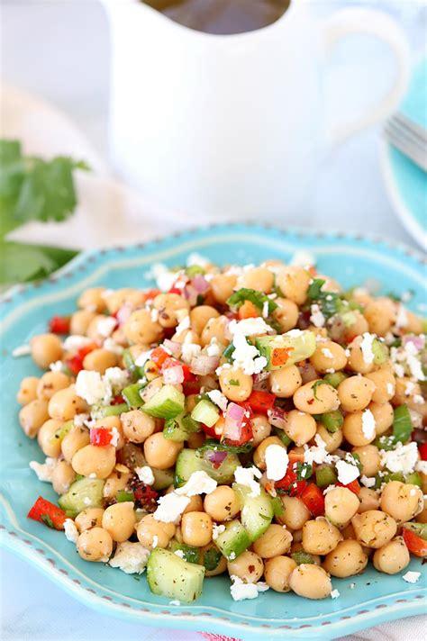 chickpea salad chana salad or chickpea salad easy no cook summer