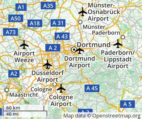 dortmund map of germany cheap flights to dortmund germany euroflights info