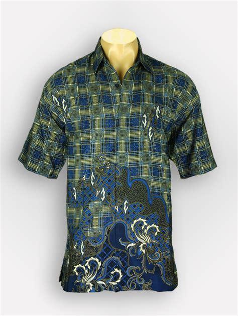 Baju Batik Warna Biru baju batik warna biru aryasena batik tanah abang