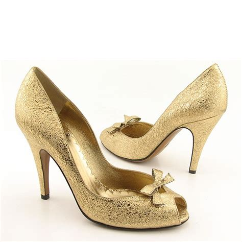 gold wedding shoes wedding by designs ellegant gold bridal shoes
