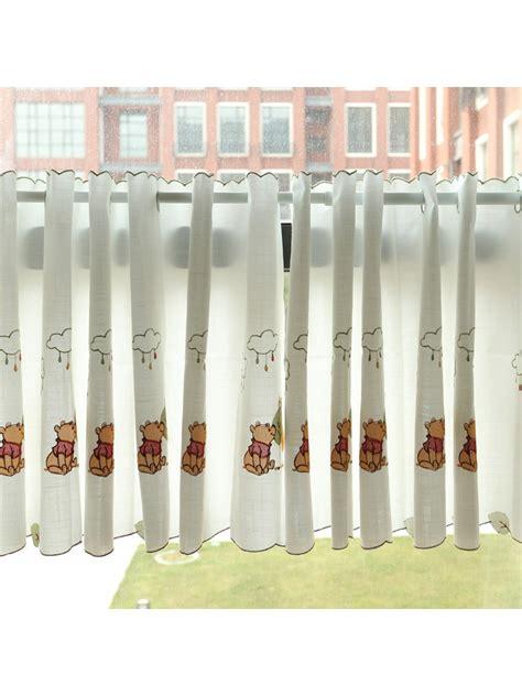 grommet cafe curtains winston panda embroidered grommet cafe curtains for