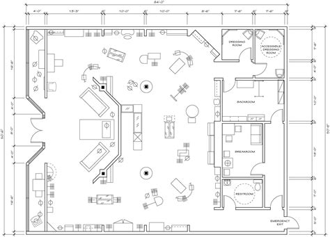clothing boutique floor plans retail floor plan google search visual merchandising