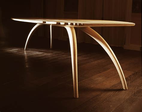 bespoke ash dining table makers eye