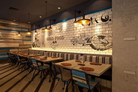 indonesian restaurant interior design fish co restaurant by metaphor interior at puri indah