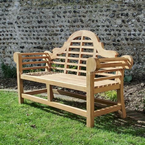 lutyens garden bench deluxe lutyens teak garden bench 3 seat 167cm