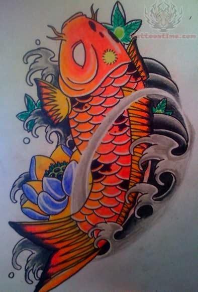 tattoo koi colour color koi fish tattoo design www hoggifts com tattoo