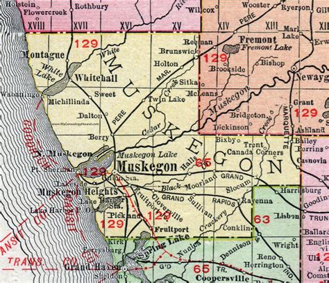 printable michigan postcards 83 best historic michigan county maps images on pinterest