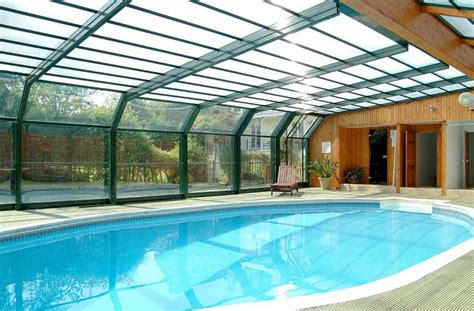 covered swimming pool notes stories ten cottages with indoor swimming pools