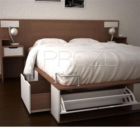 cama  plazas   cajones  botineros optimiza lugar de guardado wwwprozecomar proze