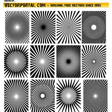 svg radial pattern vector for free use radial beams vector pack