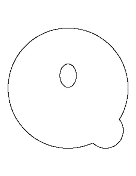Free Patterns | Page 13 Q Bubble Letter