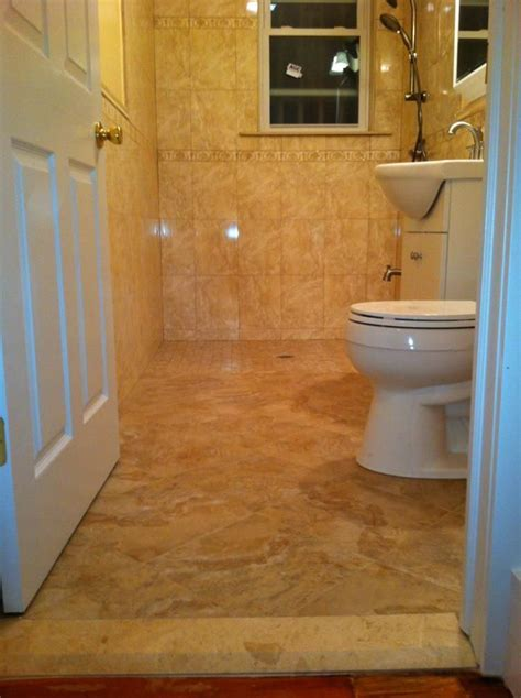 bathroom modification roll  shower handicap bathroom