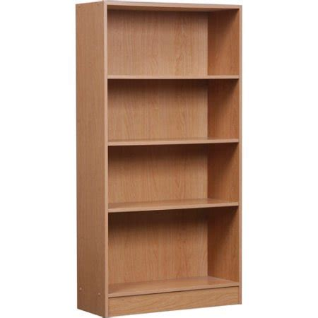 4 shelf bookcase finishes walmart