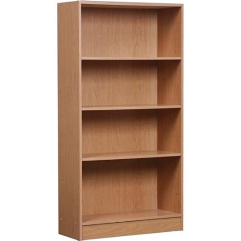 Discount Bookcases Orion 4 Shelf Bookcase Multiple Finishes Walmart Com