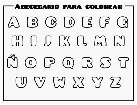 imagenes para colorear y aprender a leer im 225 genes del abecedario letras dibujos fotos para