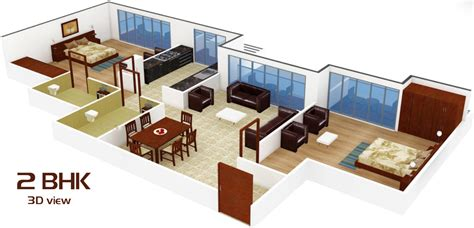 2 bhk flat design 2bhk room and car parking 3d design also bhk in mira road