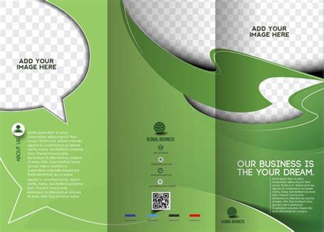 vector leaflet design eps tri folded business brochure vectors