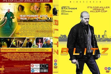 film jason statham ita blitz 2011 movie dvd cd cover dvd cover front cover