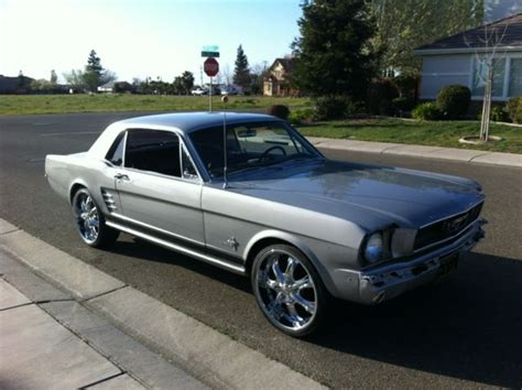 mustang for sale ta 1966 mustang with black pony interior and ralley wheels