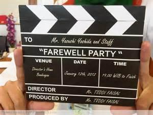 Handmade Farewell Invitation Cards - farewell it s