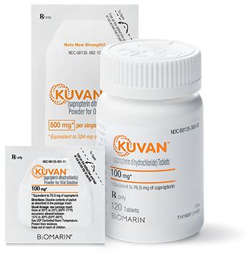kuvan dosage forms | kuvan (for hcp)