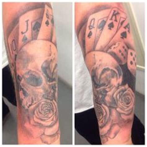 royal flush tattoo designs 1000 images about kevin on day of the