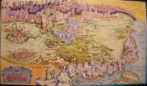 Teddy Ruxpin Grundo Map   grundo the teddy ruxpin wiki