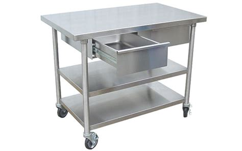 stainless steel prep table with drawers stainless veterinary utility prep table with 2 pass thru