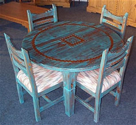 Southwest Style Table Ls by Picos Southwest Style Dining Set Tables Chairs China Cabinets