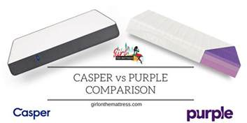 Casper Bed Vs Ghostbed Casper Vs Purple Mattress Comparison On The Mattress