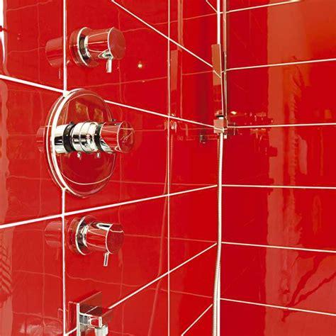 fliesen rot glas glasfliesen spezielles glasmosaik glasbilder