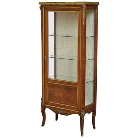 Vitrine Display Cabinet by Continental Vitrine Rosewood Display Cabinet For Sale At