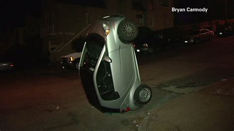 tipped smart cars the gallery for gt smart car tipping