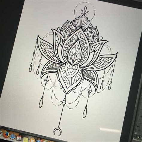 tattoo lotus flower mandala mandala lotus tattoos pinterest mandala lotus and