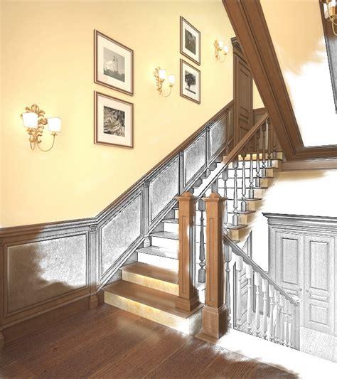 treppenhaus gestalten schöner wohnen treppenhaus gestalten mit tapete marauders info