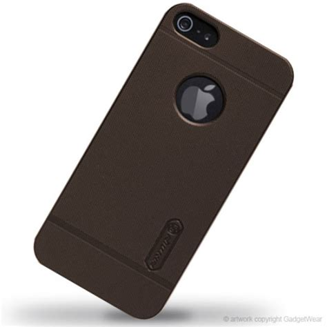 Nillkin Frosted Iphone 55s Brown nillkin frosted shield for apple iphone 5 5s se brown jakartanotebook