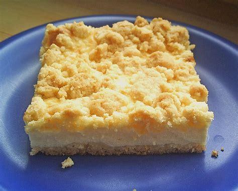 pfirsich quark kuchen blech quark streuselkuchen vom blech kochkatinka chefkoch de