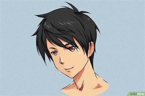 imagenes realistas anime 6 formas de dibujar cabello de anime wikihow