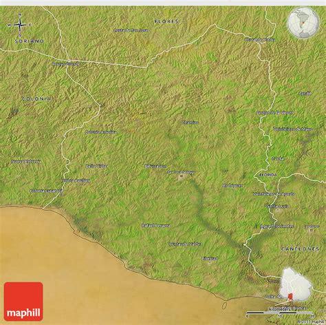 san jose uruguay map satellite 3d map of san jose
