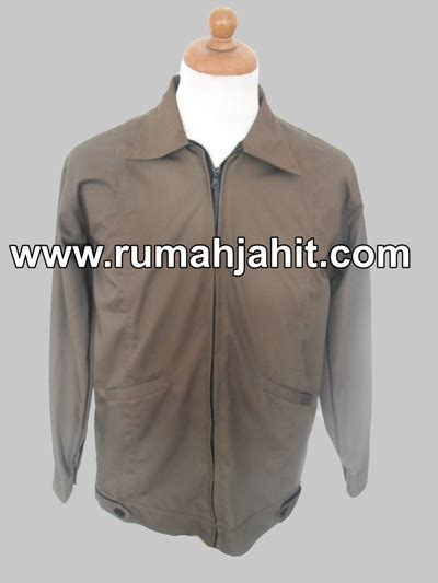 Jaket Resleting Motip Biru Dongker jas almamater1 mitra pengadaan seragam no 1 di indonesia