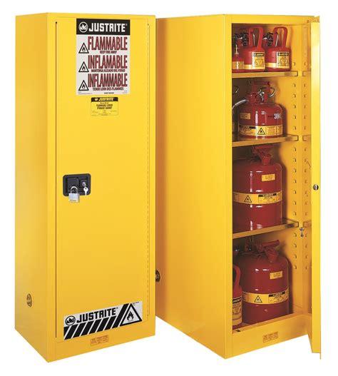 justrite flammable storage cabinet justrite 22gal slimline yellow cabinet 1 door manual sure