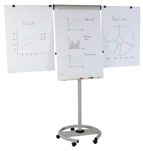 flip chart 70x100cm magnetoplan mobile flip chart board 70x100cm w 2
