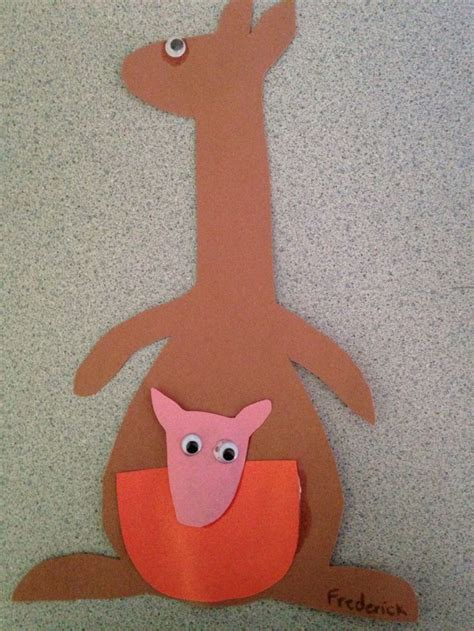 Kangaroo Paper Plate Craft - 17 best images about kangaroo crafts on crafts