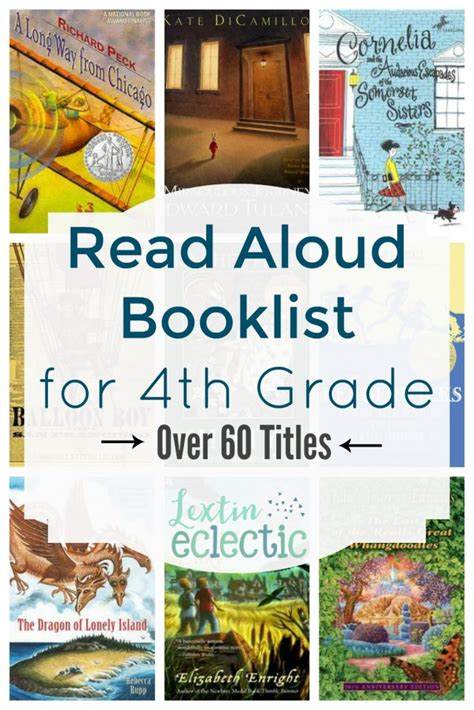 The Book Of List 4 book list 4th grade read alouds lextin eclectic