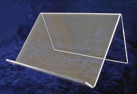 leggio da tavolo leggio da tavolo in plexiglass trasparente