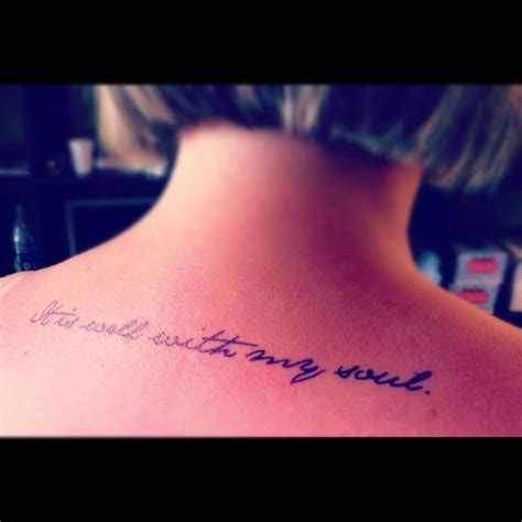 tattoo fonts jane austen quot it is well with my soul quot in austen font