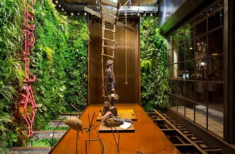 home design store barcelona replay store by vertical garden design barcelona 187 retail design blog