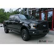 Ford F150 With 20in Black Rhino Warlord Wheels Exclusively