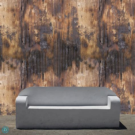 temporary fabric wallpaper removable wallpaper singed wood peel stick by